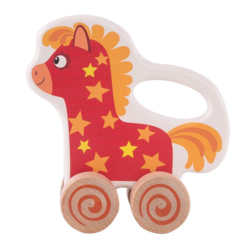 Купить со скидкой Каталка – Лошадка Иго-го. Деревяшки
