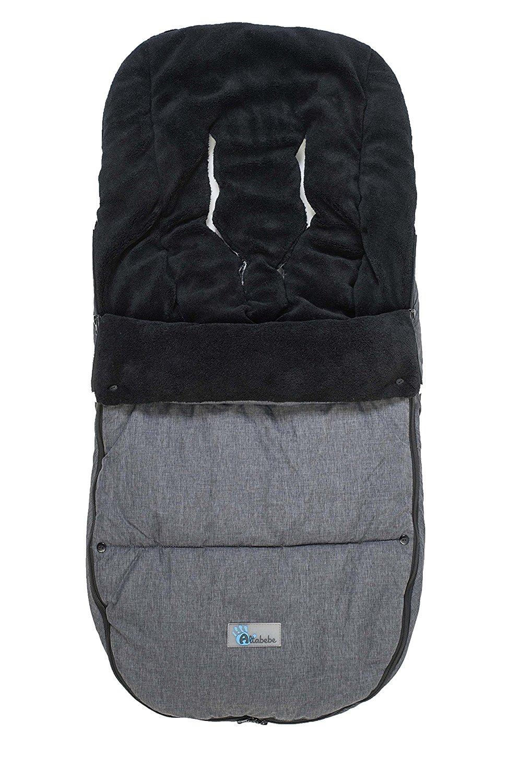 Купить Зимний конверт - AL2280P Alpin Bugaboo, dark grey/black, Altabebe