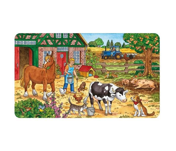 картинка Пазл - Жизнь на ферме, 15 деталей от магазина Bebikam.ru