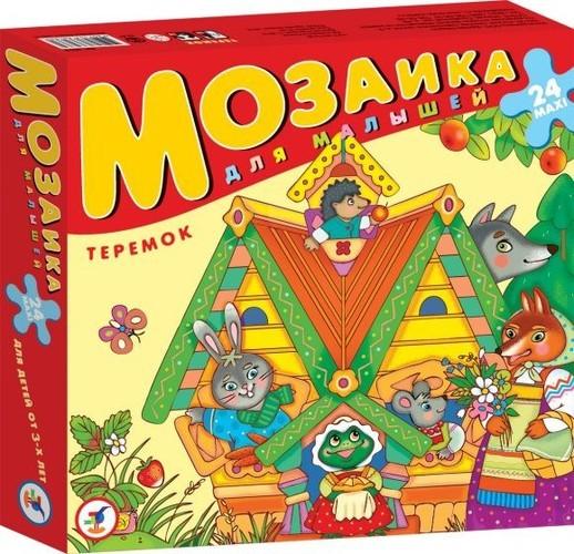 Мозаика для малышей. ТеремокПазлы для малышей<br>Мозаика для малышей. Теремок<br>