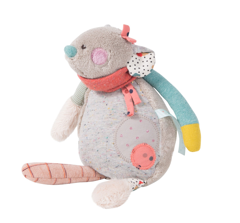 Купить Музыкальная игрушка – Мышь. 24 см, Moulin Roty