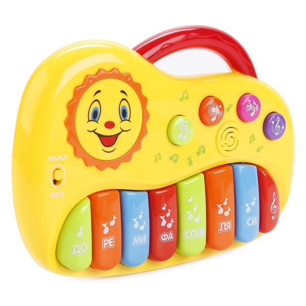Купить Пианино с песнями В. Шаинского и разноцветными клавишами, Умка