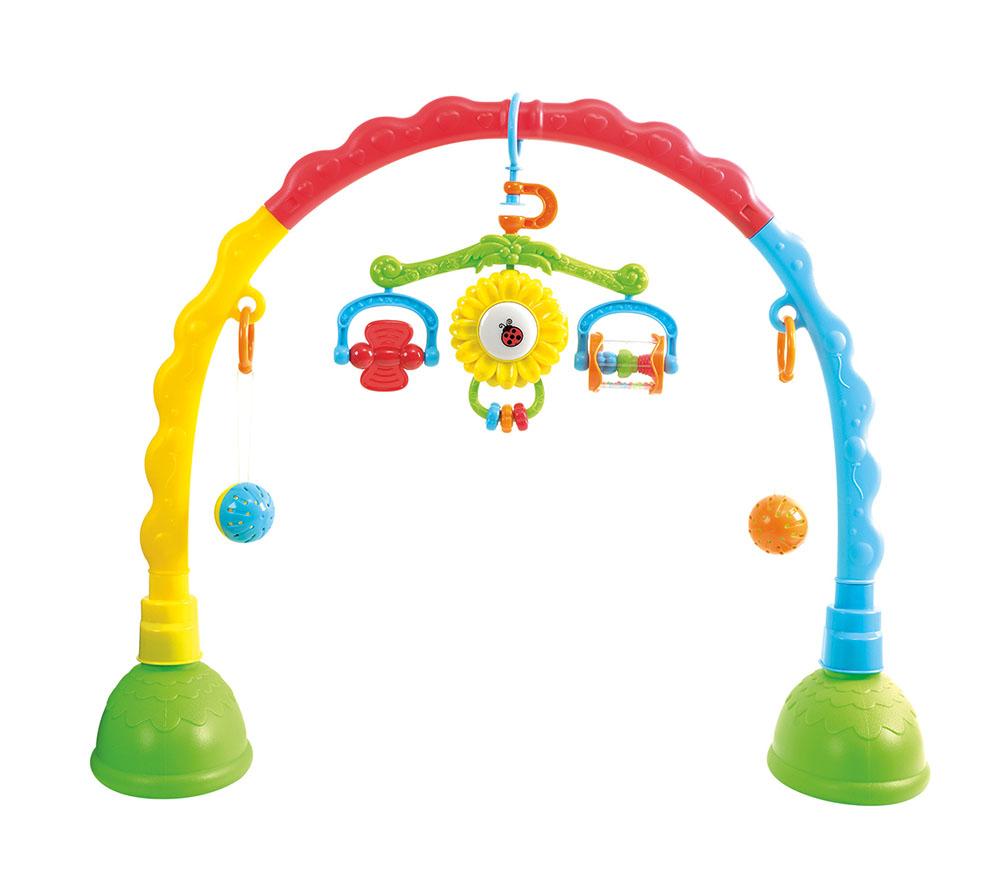 Развивающая игрушка  Центр-дуга с подвесками - Развивающая дуга. Игрушки на коляску и кроватку, артикул: 150283