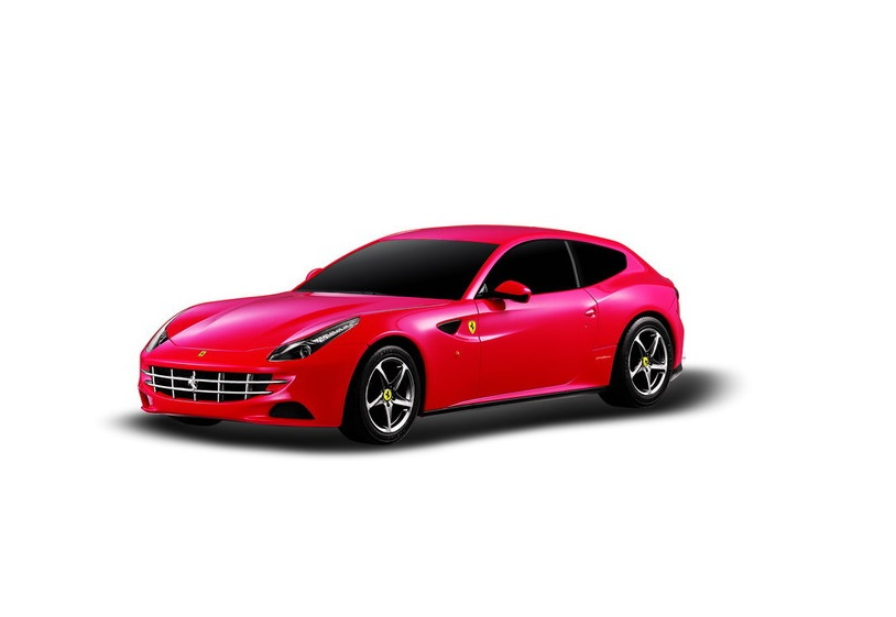 картинка Машина на радиоуправлении 1:24 Ferrari FF 27MHZ, цвет красный от магазина Bebikam.ru