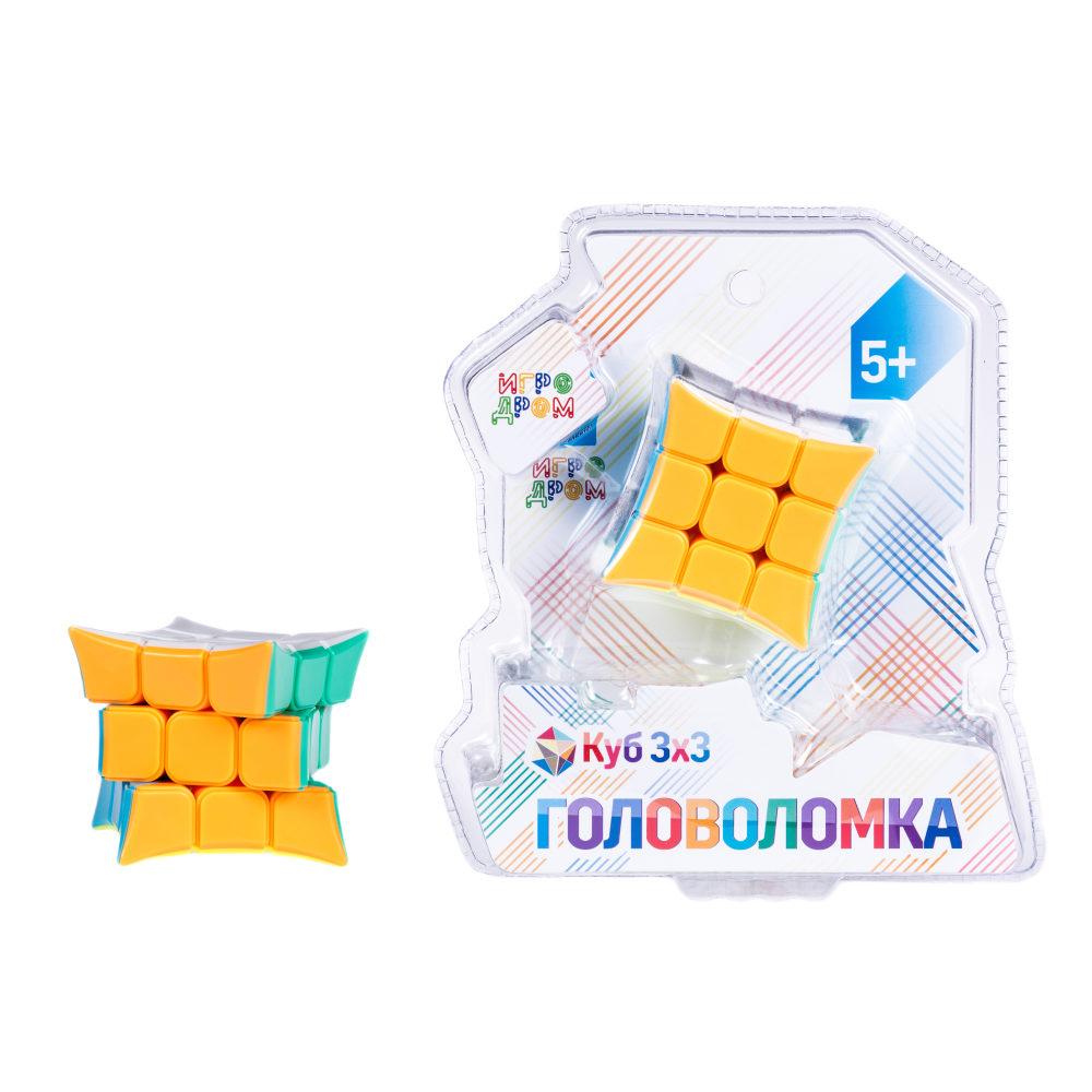 картинка Головоломка - Куб 3 х 3 с загнутыми вершинами, 5,5 см от магазина Bebikam.ru