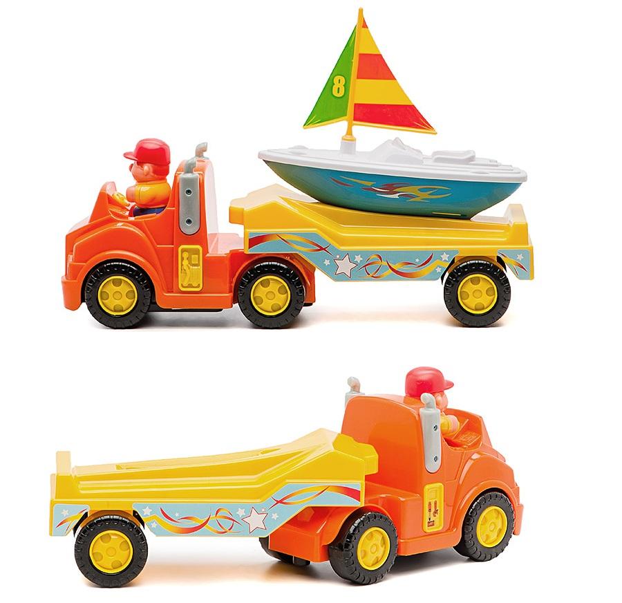 Kiddieland Развивающая игрушка «Трейлер с яхтой»