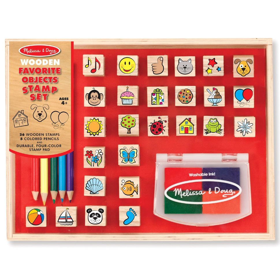 Набор печатей  Любимые предметы из серии Творчество - Рисование, артикул: 139905