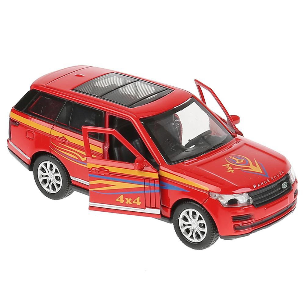 Купить Металлическая инерционная машина - Range Rover Vogue Спорт, 12 см, Технопарк