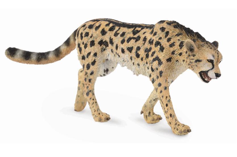 Фигурка Gulliver Collecta - Королевский гепардДикая природа (Wildlife)<br>Ваш ребенок любит собирать фигурки животных? Фигурка королевского гепарда станет для детей не только красивой игрушкой, но и дополнит колл...<br>