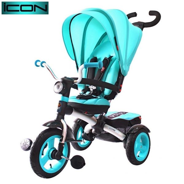 Велосипед ICON 6 RT LUXE Aluminium aqua