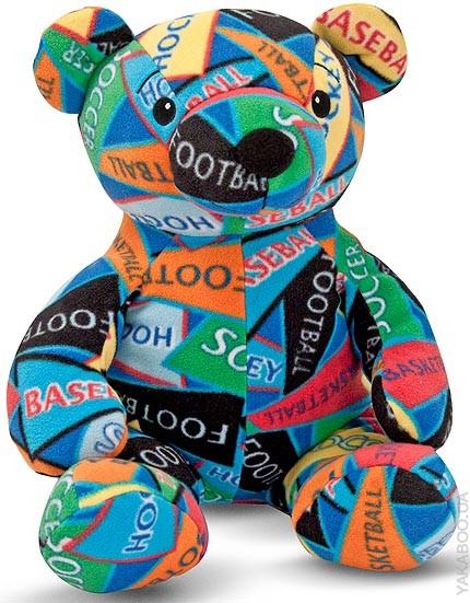 Мягкая игрушка «Мишка Зак»Медведи<br>Мягкая игрушка «Мишка Зак»<br>
