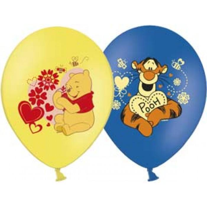 Шарик надувной Disney - Винни 1 штука , 3 цвета, 35 смВоздушные шары<br>Шарик надувной Disney - Винни 1 штука , 3 цвета, 35 см<br>