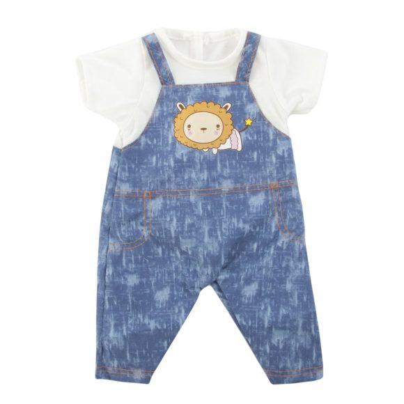 Одежда для куклы 38-43 см - комбинезон с футболкойОдежда для кукол<br>Одежда для куклы 38-43 см - комбинезон с футболкой<br>
