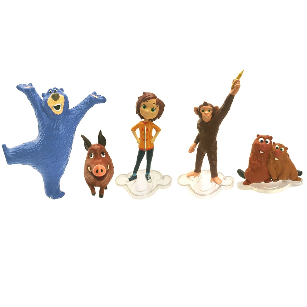 Купить Игровой набор из серии Волшебный парк Джун - Любимые герои, TM Wonder Park