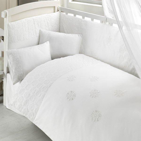 Комплект постельного белья и спальных принадлежностей из 6 предметов серии Elitte фото