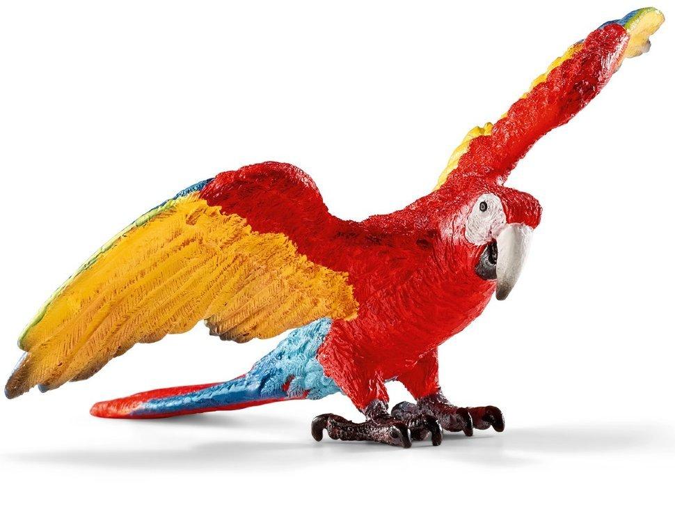 Фигурка - Попугай Ара, размер 8 х 8 х 5 см.Дикая природа (Wildlife)<br>Фигурка - Попугай Ара, размер 8 х 8 х 5 см.<br>