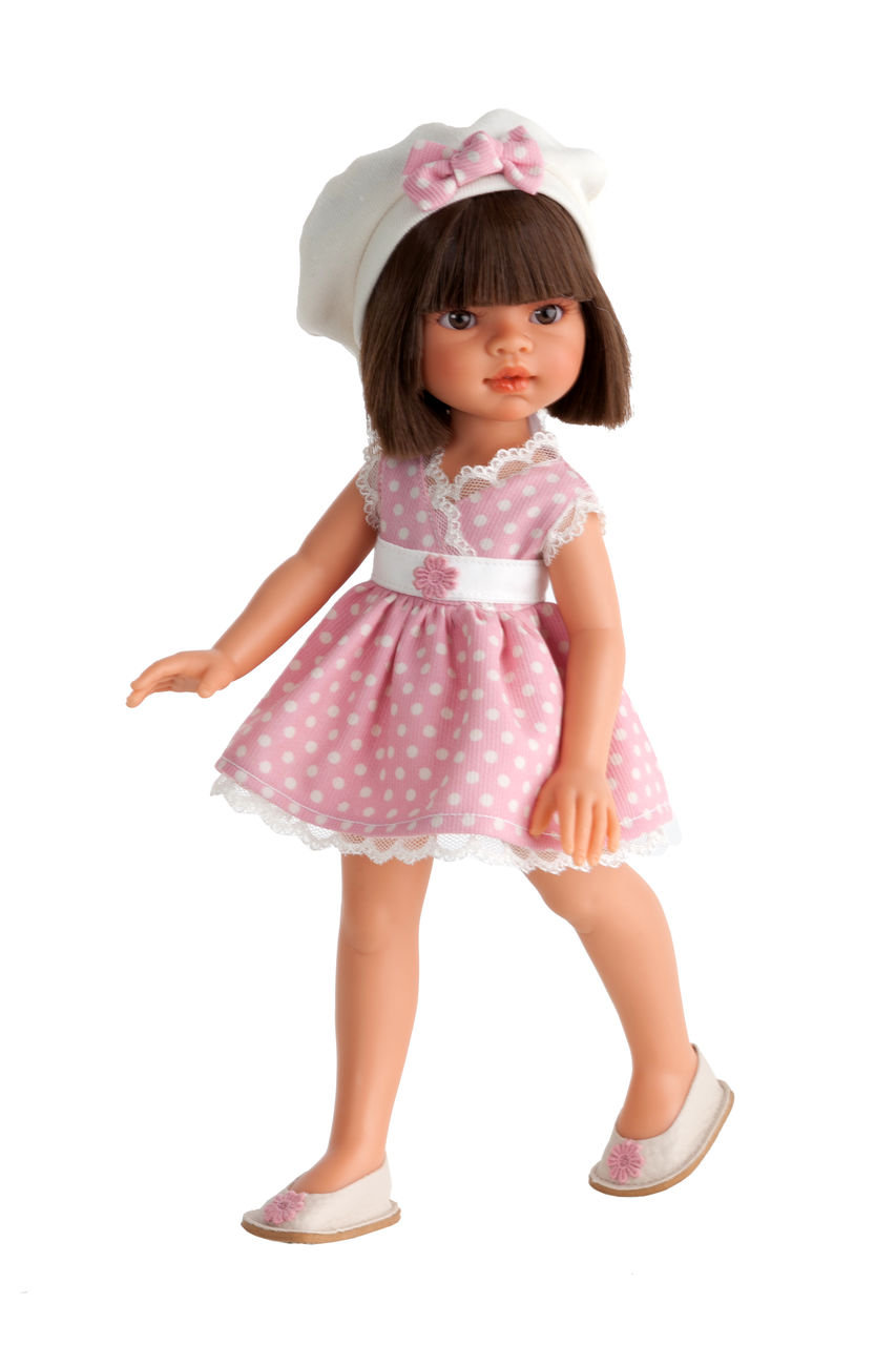 Кукла Эмили летний образ, брюнетка, 33 см.Куклы Антонио Хуан (Antonio Juan Munecas)<br>Кукла Эмили летний образ, брюнетка, 33 см.<br>