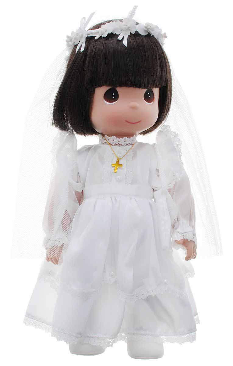 Кукла Precious Moments - Невеста, брюнетка, 30 смПупсы<br>Кукла Precious Moments - Невеста, брюнетка, 30 см<br>