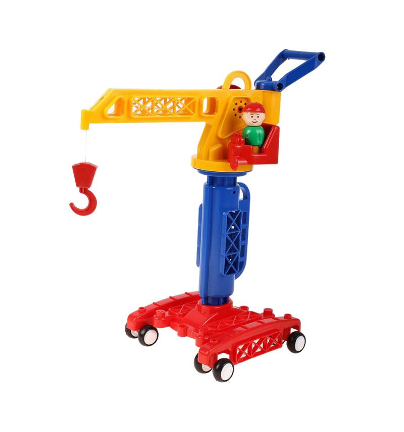 Кран башенный из серии - Детский садИгрушечные подъемные краны<br>Кран башенный из серии - Детский сад<br>
