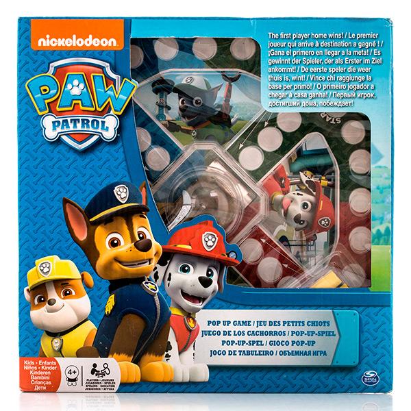 Купить Настольная игра с кубиком и фишками из серии Щенячий Патруль, Spin Master