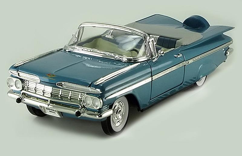 Коллекционный автомобиль 1959 года - Шевроле Импала, масштаб 1/18Chevrolet<br>Коллекционный автомобиль 1959 года - Шевроле Импала, масштаб 1/18<br>