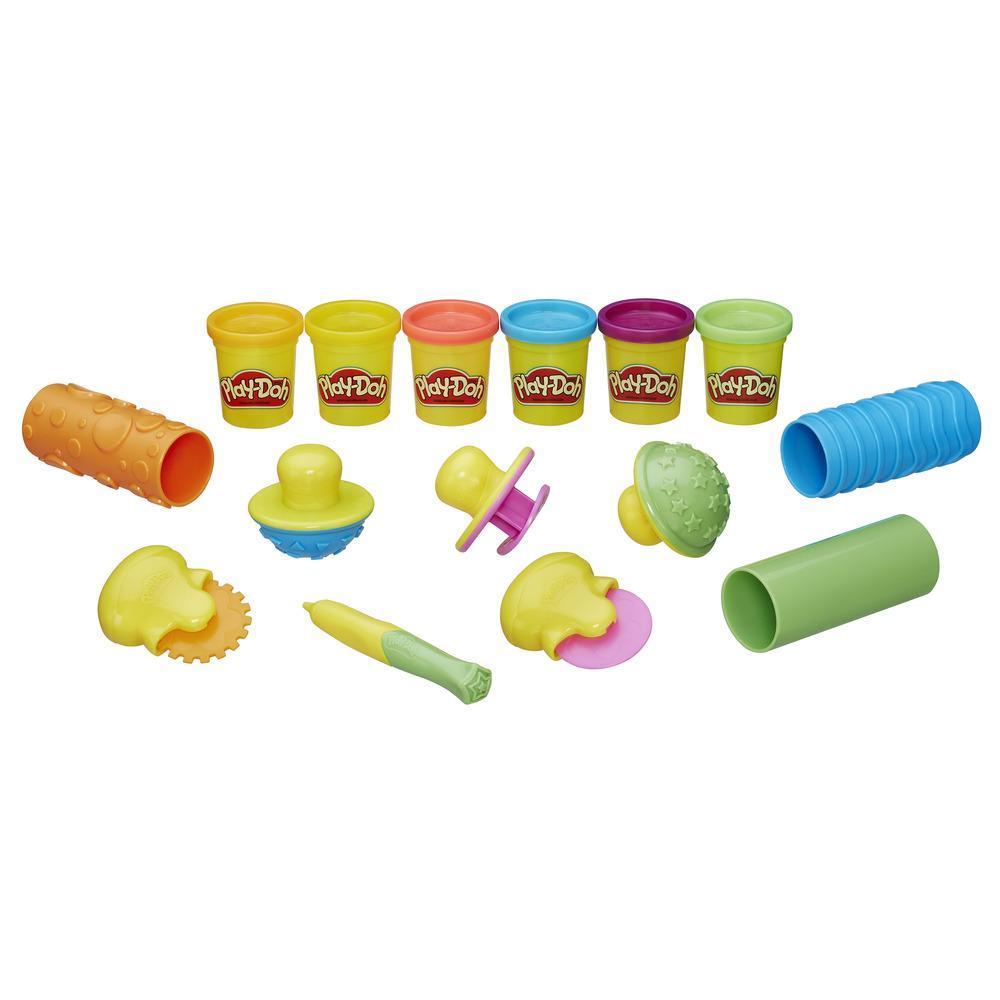 Купить Игровой набор Play-Doh – Текстуры и инструменты, Hasbro