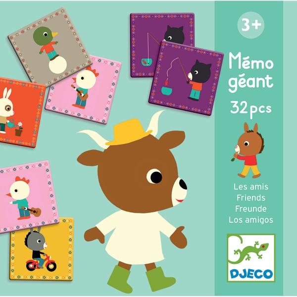 картинка Мемо-игра для памяти – Друзья, 32 карточки от магазина Bebikam.ru