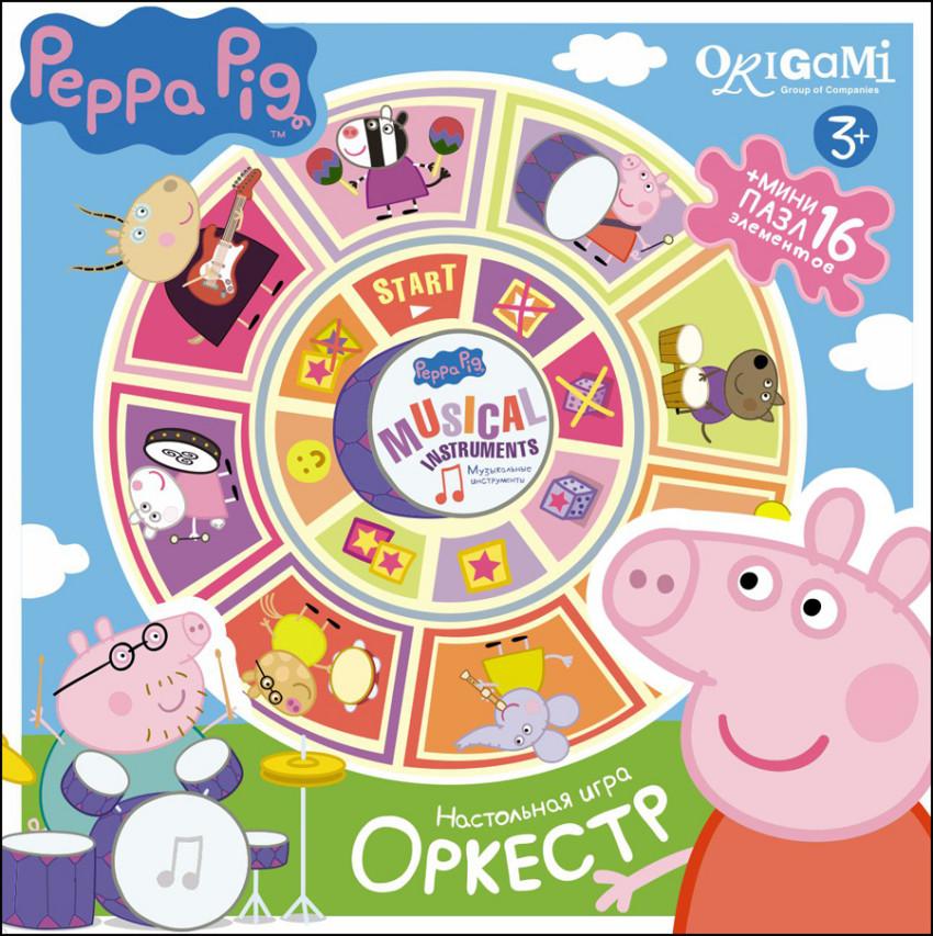 Игра настольная Peppa Pig - ОркестрИгры для компаний<br>Игра настольная Peppa Pig - Оркестр<br>