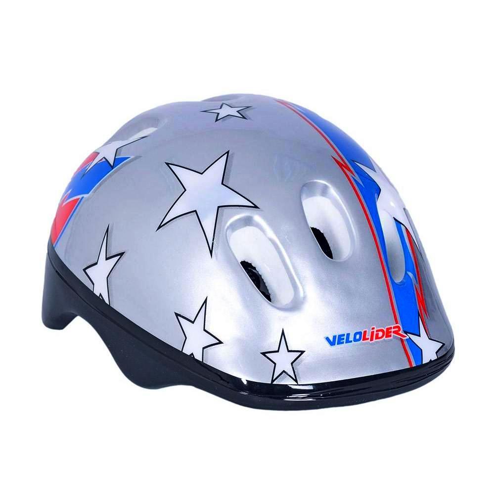 172077 VLZ1 Шлем велосипедный Velolider - Звезды