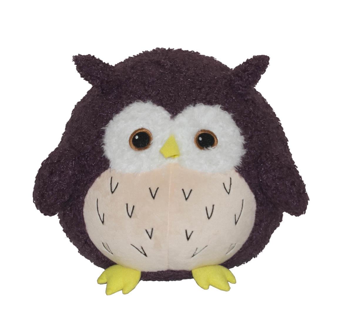 Мягкая игрушка - Сова Сычик 30 смДикие животные<br>Мягкая игрушка - Сова Сычик 30 см<br>