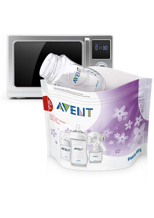 Купить Пакеты для стерилизации в микроволновой печи, Avent Philips