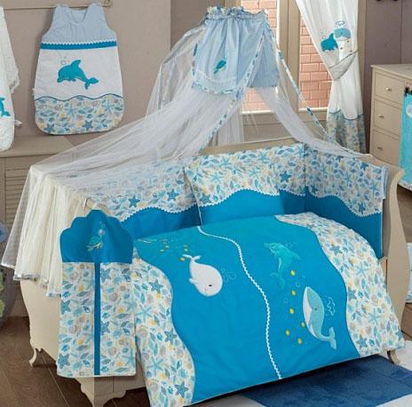 Балдахин серии Sea Life, 150 х 450 смДетское постельное белье<br>Балдахин серии Sea Life, 150 х 450 см<br>