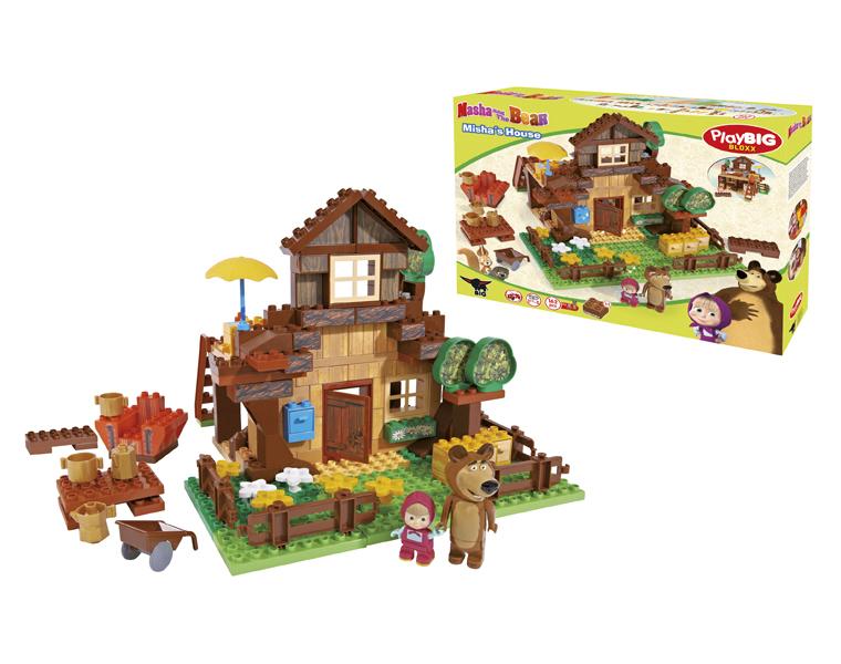 Конструктор Маша и Медведь - Дом МишкиМаша и медведь игрушки<br>Конструктор Маша и Медведь - Дом Мишки<br>