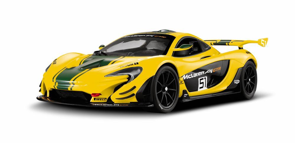 картинка Машина р/у 1:14 - McLaren P1 GTR, цвет желтый, 27MHZ от магазина Bebikam.ru