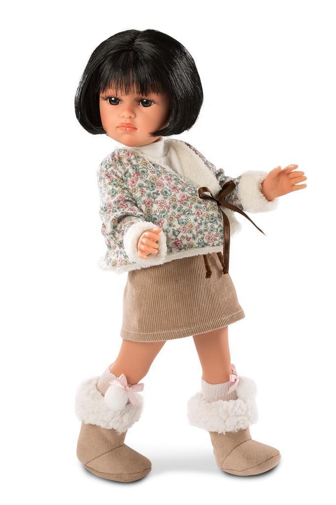 Купить Кукла Оливия в коричневом, 37 см, Llorens Juan