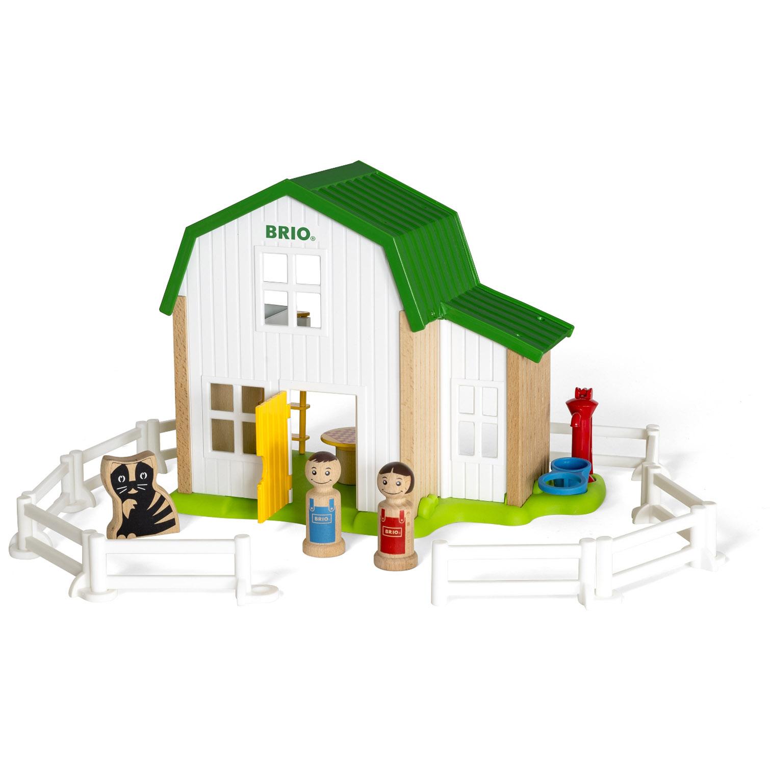 Купить Набор из серии Мой родной дом - Загородный дом, 20 элементов, Brio