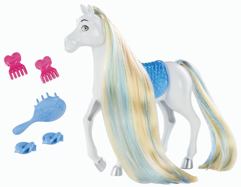 Набор с аксессуарами - Лошадь ЗолушкиЛошади (Horse)<br>Набор с аксессуарами - Лошадь Золушки<br>