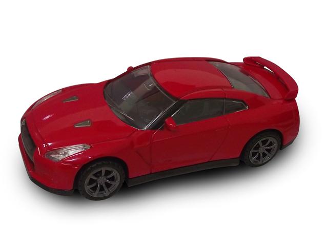 Металлическая машинка Nissan GT-R, масштаб 1:43