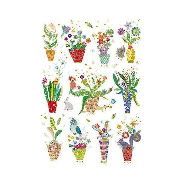 Открытка - Вазы с цветами, Turnowsky  - купить со скидкой