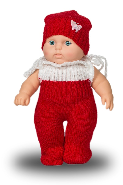 Кукла Карапуз девочка, 20 смРусские куклы фабрики Весна<br>Кукла Карапуз девочка, 20 см<br>