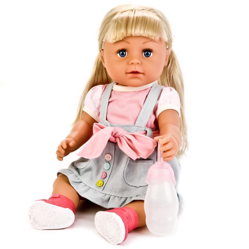 Купить Интерактивная кукла Baby The Club 43 см, пьет и писает, с аксессуарами, Wei Tai Toys