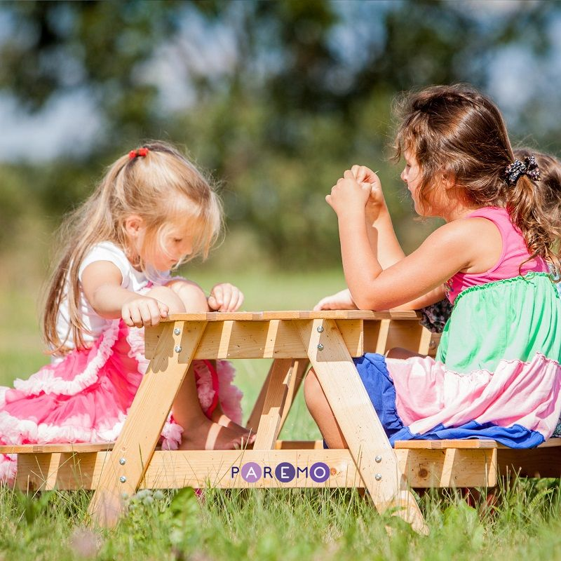 Купить Детский стол-пикник из дерева, Paremo