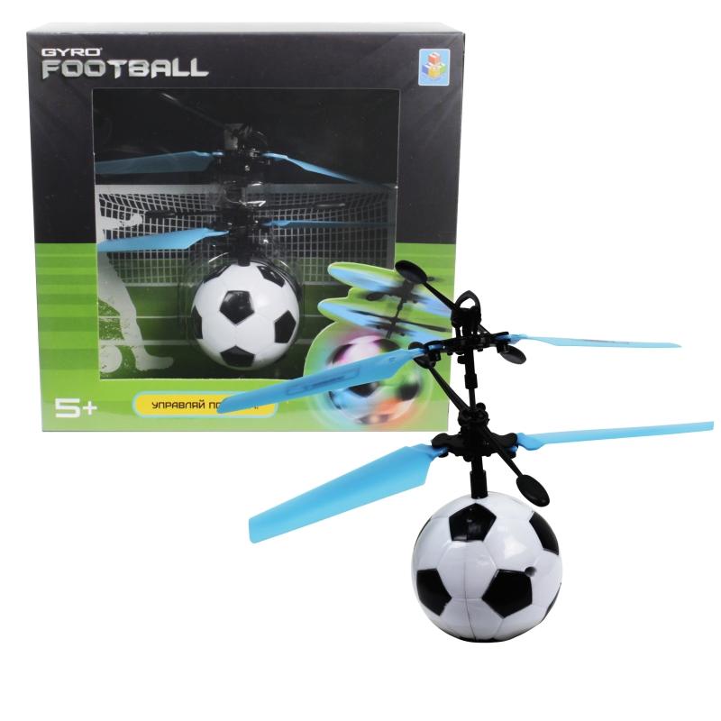 Купить Шар на сенсорном управлении Gyro-Football, со светом, диаметр 4, 5 см., коробка, 1TOY