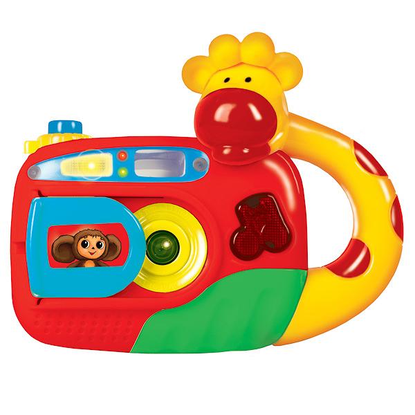 Развивающая игрушка Фотоаппарат ЧебурашкиСкидки до 70%<br>Развивающая игрушка Фотоаппарат Чебурашки<br>
