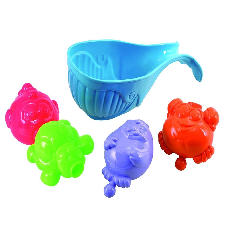 Игровой набор для ванной - Морские друзьяРазвивающие игрушки<br>Игровой набор для ванной - Морские друзья<br>