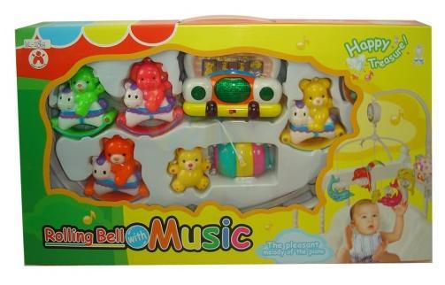 Мобиль музыкальныйМобили и музыкальные карусели на кроватку, игрушки для сна<br>Мобиль музыкальный<br>