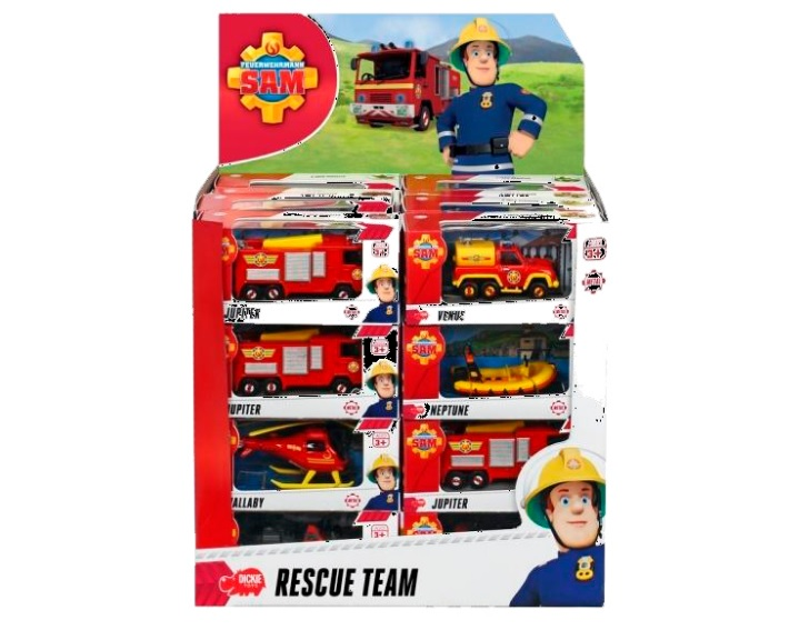 Транспортное средство из серии Пожарный Сэм - Пожарный СЭМ, артикул: 144425
