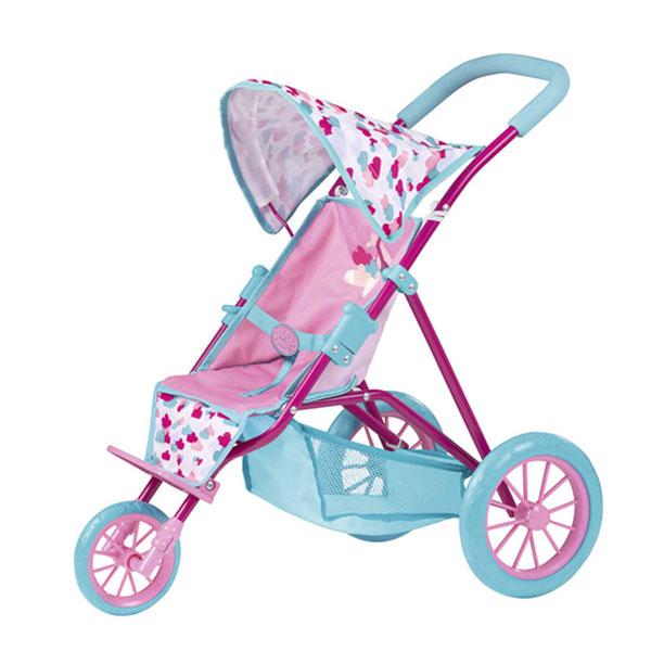 Трехколесная коляска с козырьком для кукол Baby BornКоляски для кукол<br>Трехколесная коляска с козырьком для кукол Baby Born<br>