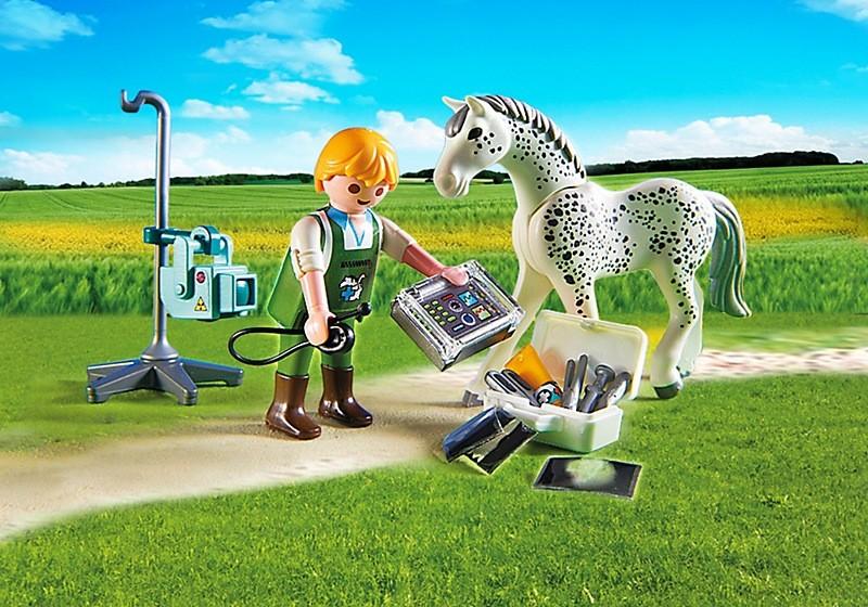 Игровой набор Ветеринарная клиника - Лошадка с рентгеновским аппаратомВетеринарная клиника<br>Игровой набор Ветеринарная клиника - Лошадка с рентгеновским аппаратом<br>