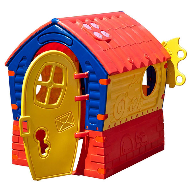 Игровой домик Лилипут с дверцей и ставнямиПластиковые домики для дачи<br>Игровой домик Лилипут с дверцей и ставнями<br>